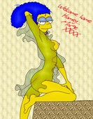 Jimmy - Artwork collection with Marge Simpson