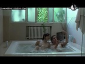 Maria Abadi nude in a jacuzzi