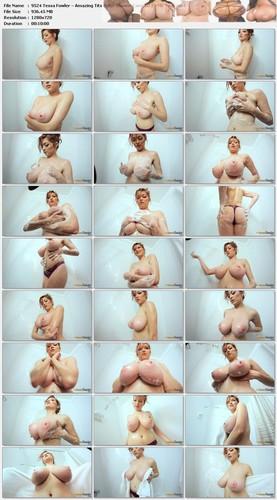 Tessa Fowler – Amazing Tits Beige Shower Cami 5D 2   HD 720p