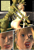 Monsters 3D Adult Comics