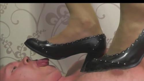 Kara - office bitch shoes trampling