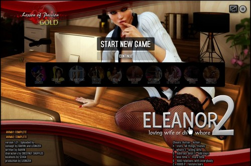 Lesson Of Passion – Eleanor 2 [VERSION 1.21+ Cheats] – Update!