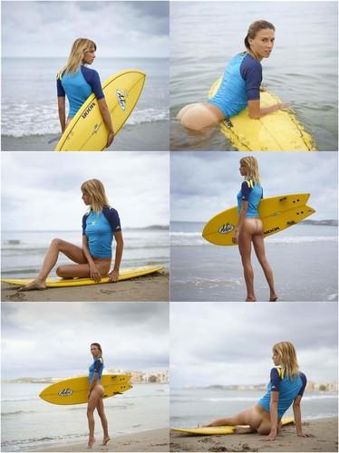 Sweet Swedish Surfer Girl Agneta With Nice Ass