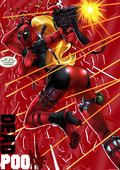 Lady Deadpool New Artwork collection