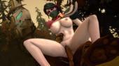 Artwork with - Templar Assassin - Dota 2 parody