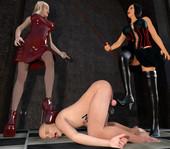 Femdom Ladies Discipline Art Compilation chapter 3